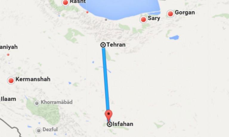 بلیط چارتر تهران اصفهان