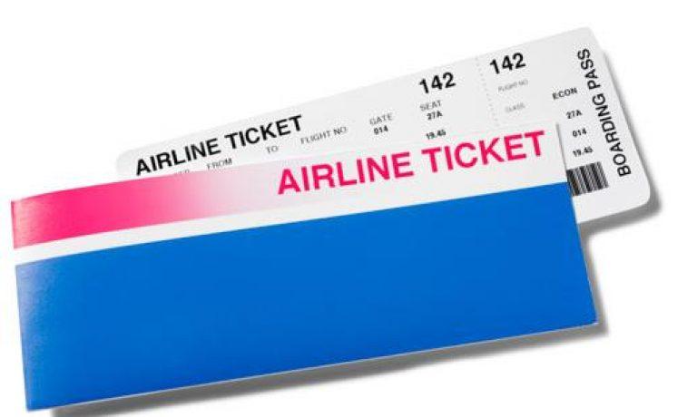 آموزش خواندن بلیط هواپیما