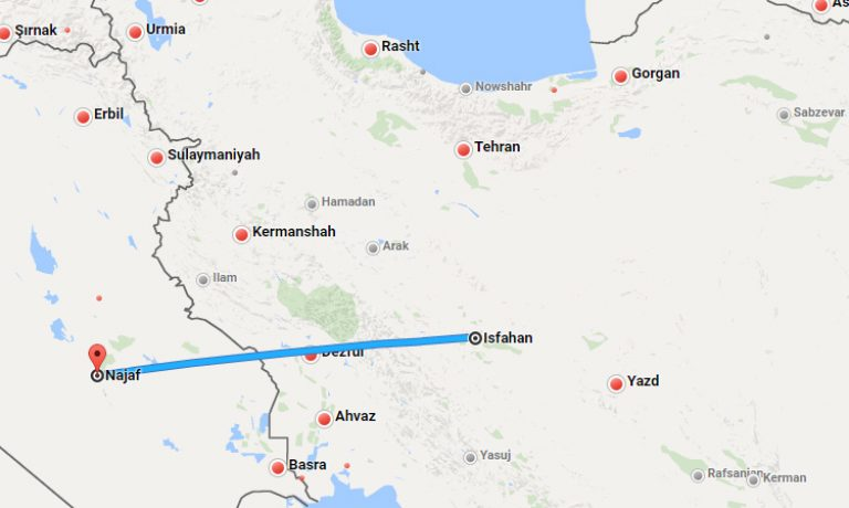 isfahan-to-najaf