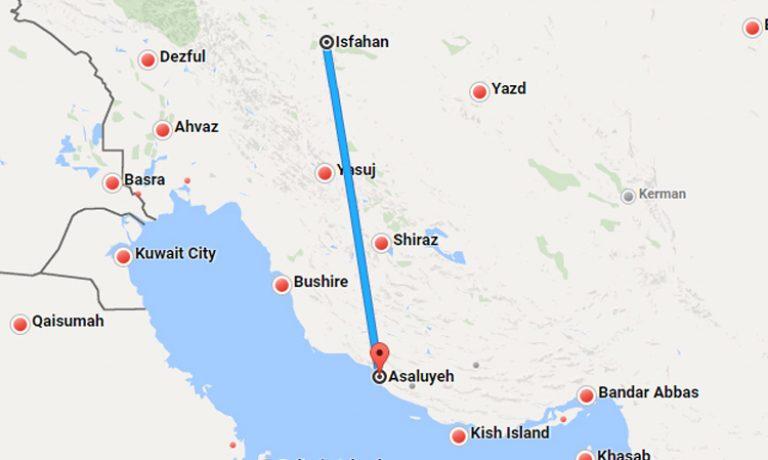 بلیط هواپیما اصفهان عسلویه