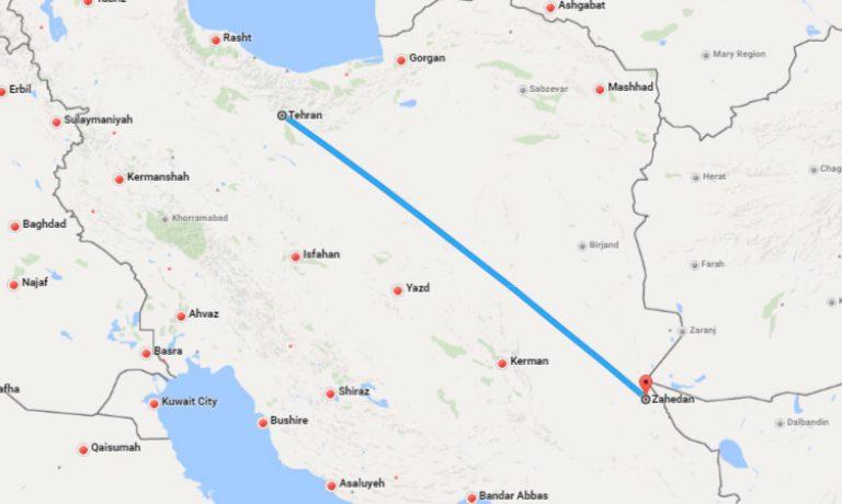tahran-zahedan