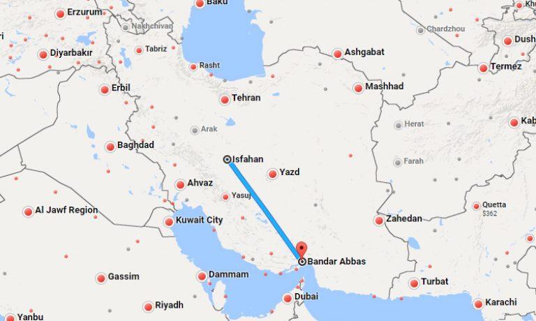 esfahan-bandarabbas