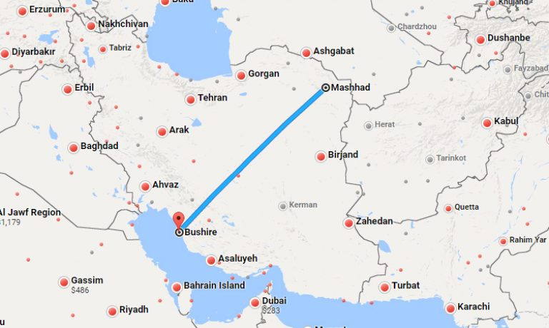 mashhad-bushire