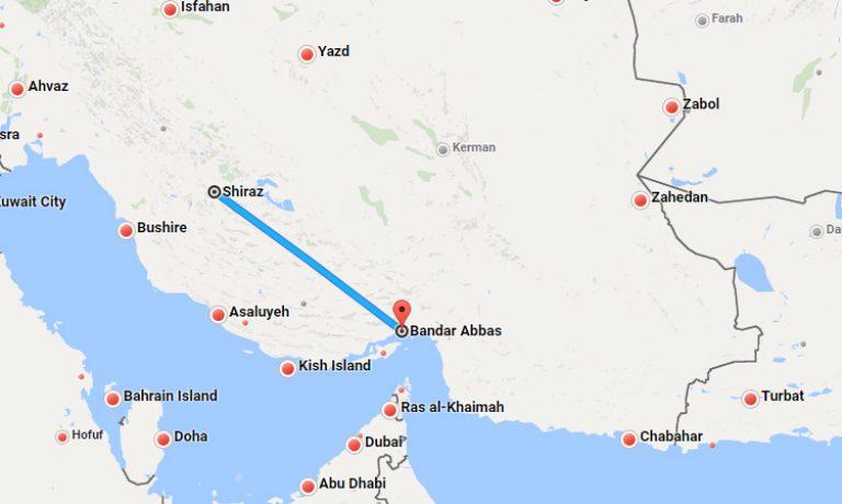 بلیط چارتر شیراز بندرعباس