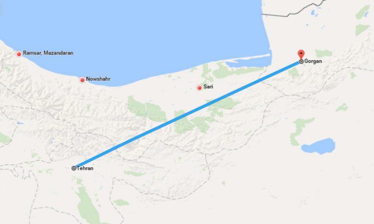 tahran-gorgan
