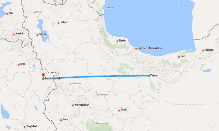 tehran-sulaymaniyah